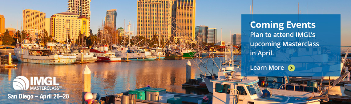 Attend the IMGL Masterclass in San Diego