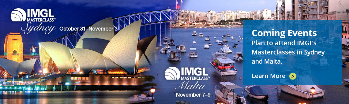 IMGL Masterclasses - Sydney and Malta